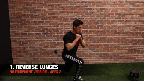 bodyweight reverse lunge