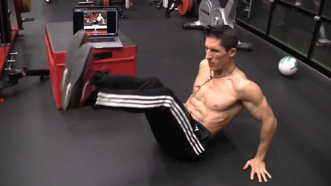 hands back raises lower abs exercise