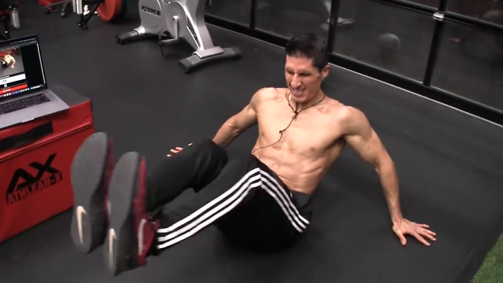 seated ab circles counterclockwise