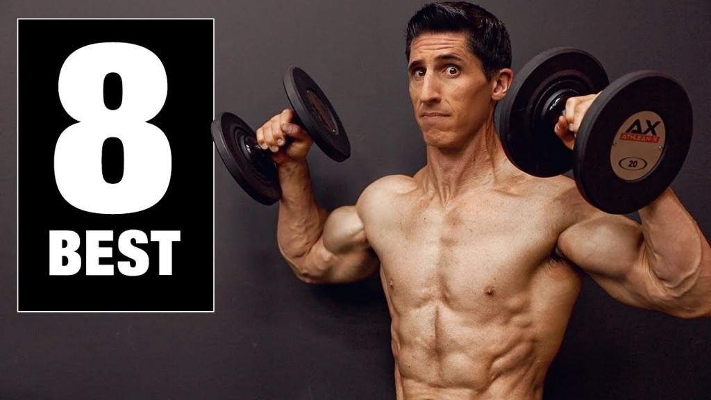8 Best Shoulder Exercises for Mass (HOME EDITION)