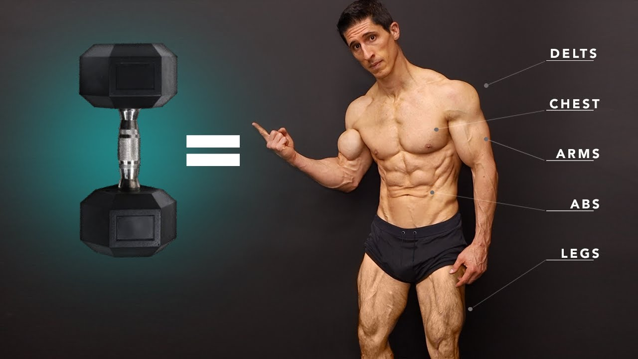 Ultimate Total Body Dumbbell Workout (BEGINNER TO ADVANCED!)