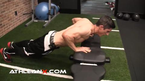 bodyweight incline pushup