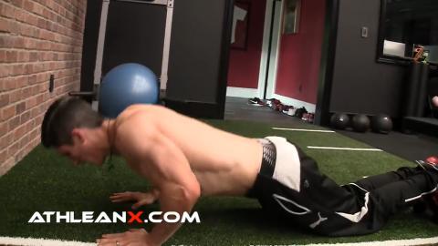 kneeling flat pushup