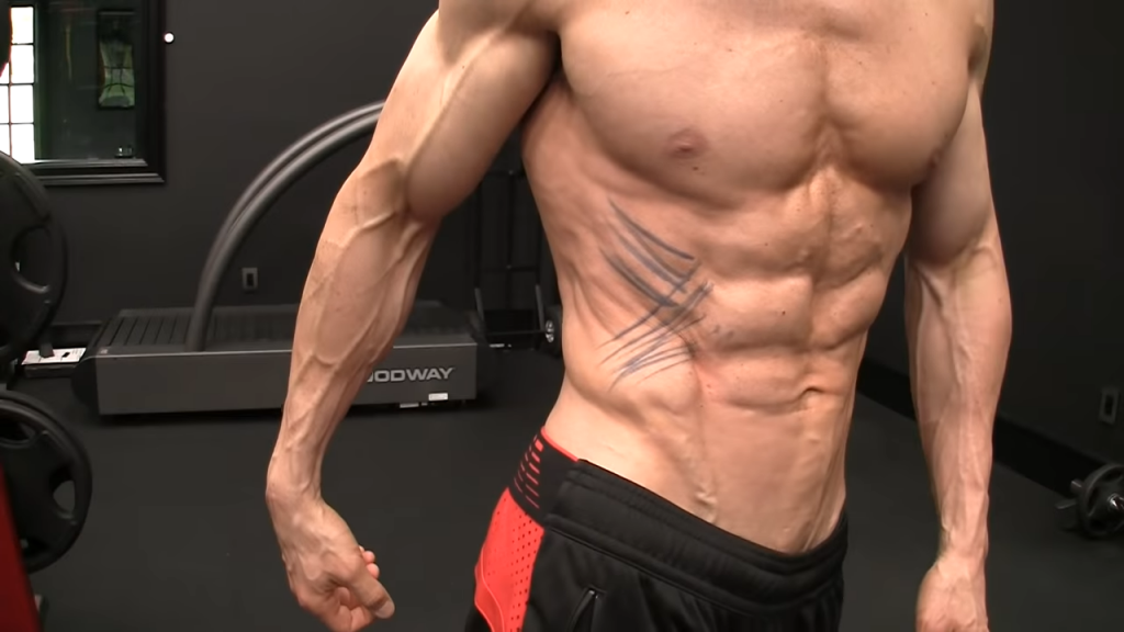 visual distraction abs