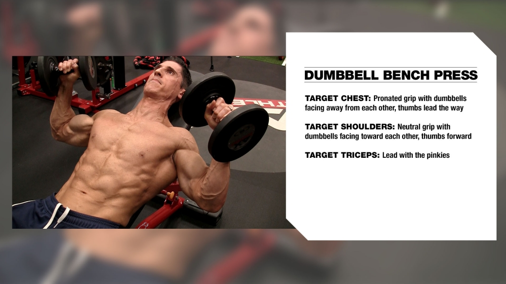 dumbbell bench press tips
