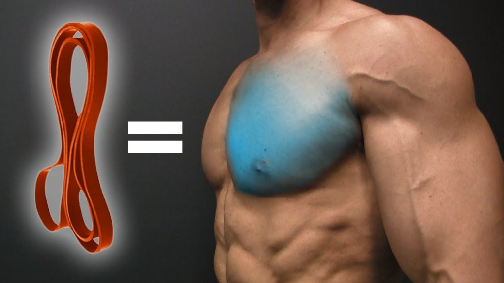 Resistance Band Chest Workout