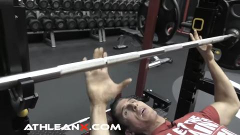 bench press proper grip