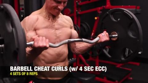 cheat curls 4 second eccentric