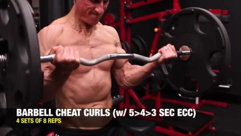 cheat curls 5 second eccentric