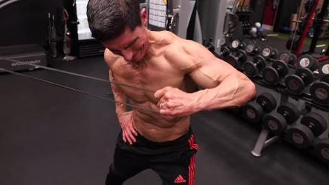 cross body lateral raise