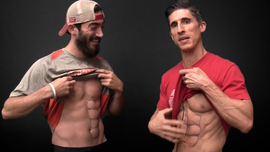six pack vs 8 pack abs