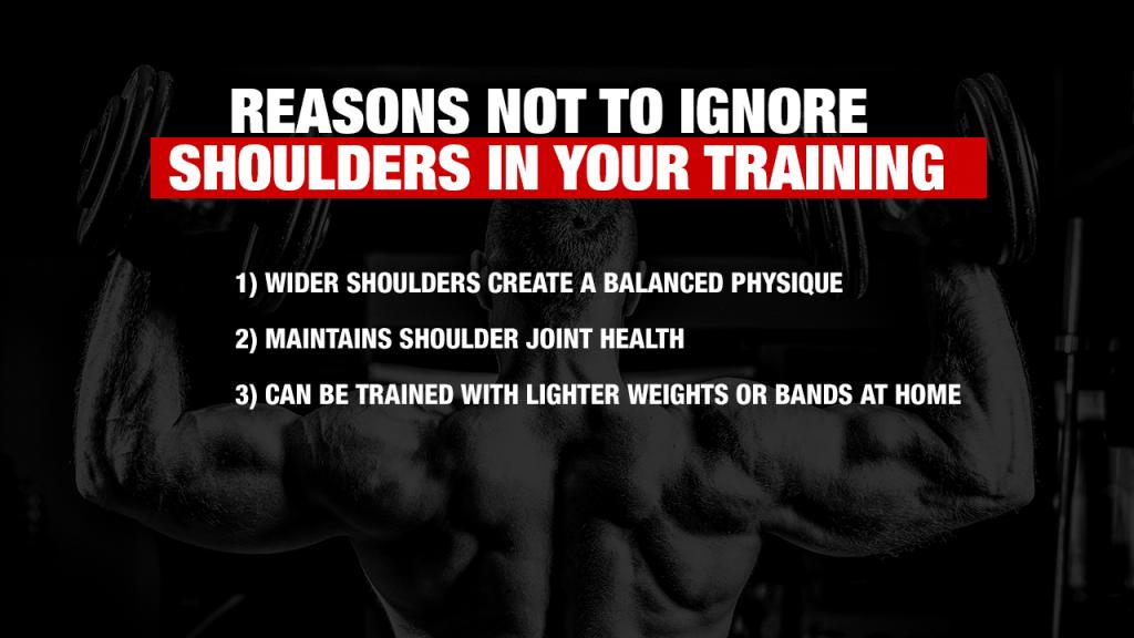 why train shoulders